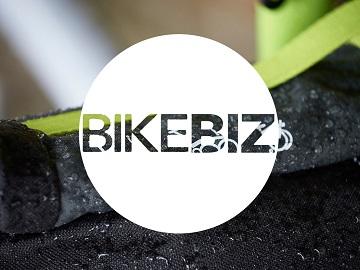 folding bike bikebiz logo